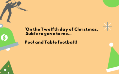 'On the twelfth day of Christmas, Subfero gave to me…